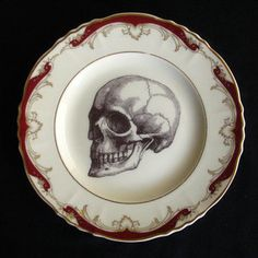 Skull Plate IV, $22, now featured on Fab.