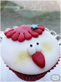 Chick Cupcake