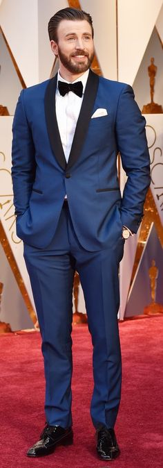 Chris Evans at the 2017 Oscars