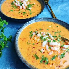 Rød thaisuppe med rejer | Mummum