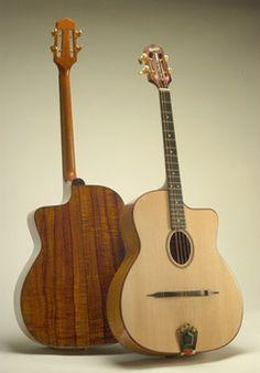 Earnest Instruments - Selma Acoustic Tenor Guitar