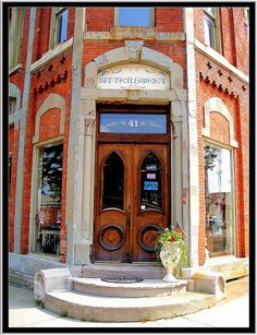 Brockport NY ~ Commercial Block ~ Former Bank