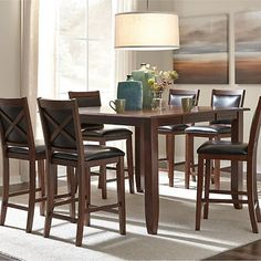 Torence 5-piece Counter Height Dining Set