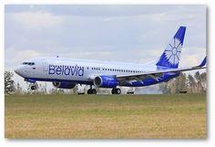 New Belavia livery