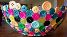 You'll Love Making A Button Bowl For Your Home