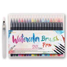 20 colores dibujo a acuarela artista cepillo de pintura marcador del bosquejo Manga Pen Set