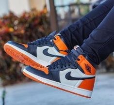 "Air Jordan 1 Retro High OG ""Shattered Backboard"" by amalia Tenis Nike Air, Nike Air Jordans, Sneakers Fashion, Shoes Sneakers, Fashion Outfits, Sneaker Store, Air Jordan Sneakers, Hype Shoes, Fresh Shoes"