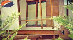 Akos glass holder system from France by www.akossystem.com #aluminium #aluminiumrailings #railing #railingsystem