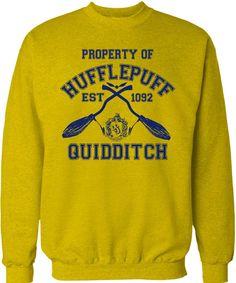 Hufflepuff Quidditch team sweater!