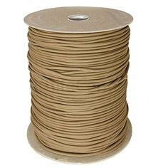 Tan SS10 550 Type III Paracord 1000 Spool Made in the USA ** Visit the image link more details.
