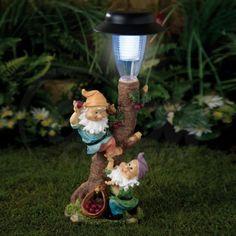 Solar Gnome Lamp