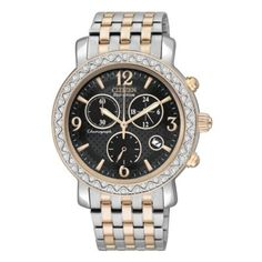 DRIVE From Citizen Eco-Drive Ladies' Two Tone Bracelet Watch- H. Samuel the Jeweller