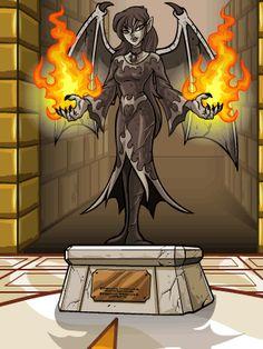 The darkest faerie; neopets