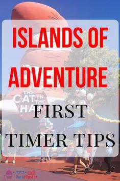 25 Amazing Islands of Adventure Tips (for First Timers) - ThemeParkHipster Orlando Travel, Orlando Vacation, Orlando Resorts, Orlando Florida, Cruise Vacation, Disney Cruise, Vacation Destinations, Orlando Disney, Cruise Tips