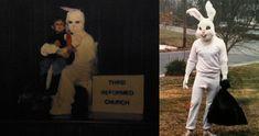 20 Creepy and Disturbing Easter Bunny Photos