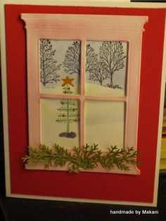 Charlie Brown tree outside my window by DocForHelp - Cards and Paper Crafts at Splitcoaststampers