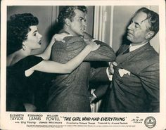 Elizabeth Taylor, Fernando Lamas & William Powell