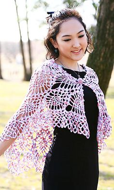 Cape Shawl: free pattern