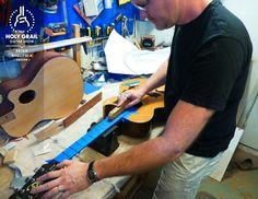 Exhibitor at The Holy Grail Guitar Show 2014: Peter Naglitsch, Sweden  http://www.peternaglitschluthier.com http://holygrailguitarshow.com