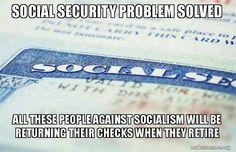 Socialism social security