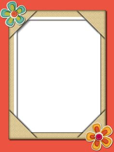 Frame Border Design, Page Borders Design, Flower Boarders, Boarders And Frames, Cute Borders, School Frame, Classroom Displays, Graphic Design Art, Flower Designs