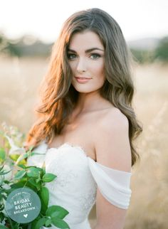 Sheer perfection and TEAM Bridal Extensions: http://www.stylemepretty.com/2015/08/02/bridalbeautybreakdown-mattely-in-love/   Tips: Team Hair & Makeup - http://teamhairandmakeupservice.com/