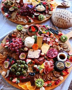 A very festive platter!