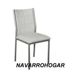 silla sofia tapizada reforzada estructura metalica v/colores