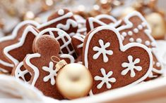 Beautiful Christmas Desktop Wallpapers, Vol. Christmas Sweets, Christmas Gingerbread, Christmas Baking, All Things Christmas, Gingerbread Cookies, Christmas Cookies, Christmas Time, Merry Christmas, Christmas Biscuits