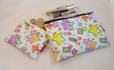 Care Bears Fabric Make Up Bag or Pencil Case and Coin Purse - Free P £11.00