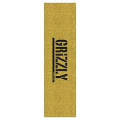 bba75a1f2d0f8 Buy Grizzly Gold Glitter Griptape Sheet at the longboard shop in The Hague