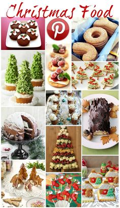 Boho Pins: Christmas Food