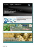 Epic Research Pvt. ltd. is a leading financial services provider with presence in Indian and other global capital markets.