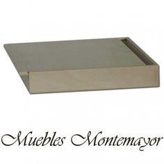 Caja para albun de fotos 11,25 € Sheet Pan, Crates, Furniture, Manualidades, Photos