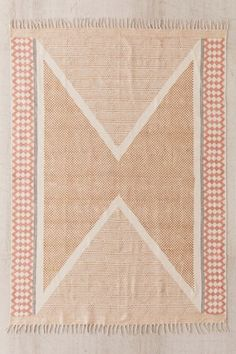 Shop Calisa Block Printed Rug at Urban Outfitters today. We carry all the latest styles, colors and brands for you to choose from right here. Classic Rugs, Curtain Patterns, Shops, Rustic Rugs, Textiles, Design Studios, Woven Rug, Jute Rug, Crafts