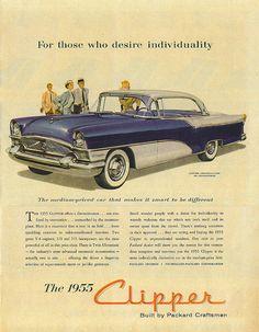 1955 Packard Clipper Ad.