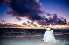 Ocean Sunrise - BackRoad Photography - Punta Cana Dominican Republic Beach Wedding Photography