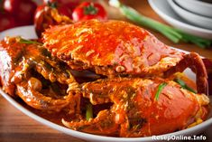 Crab Butter Sauce (Simple Home Cooking) Simple Recipe With Crab Seafood Boil, Fish And Seafood, Sauce Recipes, Seafood Recipes, Shrimp Sushi, Crab Dishes, Butter Sauce, Indonesian Food, Simple House