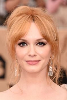 Christina Hendricks' classic peach is the stuff of legend, making her an IRL Jessica Rabbit. Taste the strawberry blonde rainbow!