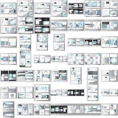 Mega Pack templates by VectorShop, #vector #design on @creativemarket