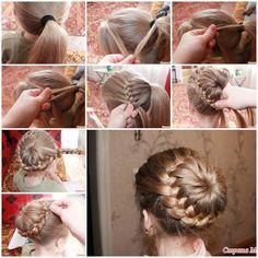 How to DIY Butterfly Braid Hairstyle   iCreativeIdeas.com Like Us on Facebook ==> https://www.facebook.com/icreativeideas