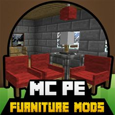 More Furniture MODS For MCPE 1.0