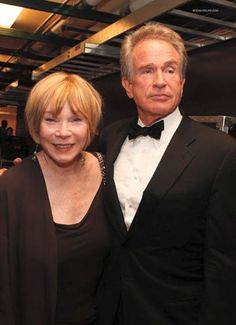 Shirley Maclaine and Warren Beatty, sister and brother