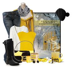 """Lemon Yellow Sun"" by jenniemitchell ❤ liked on Polyvore featuring moda, Fornarina, Oasis, Fendi, Timeless, KISS by Fiona Bennett, Chloé, Pim + Larkin, Le Creuset y Eos"