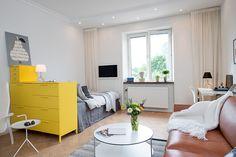 Jak se bydlí v malé stockholmské garsonce | Styl a Interier