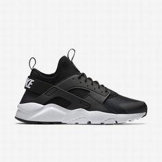 the best attitude 1ef64 b0d39  97.26 nike huarache white black,Nike Mens Black Anthracite White White Air  Huarache Ultra Shoe