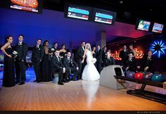 Bowling Alley Wedding Reception. Get married on a beautiful Kona Hawaii beach, Party all night at the best nightclub and bowling alley on the Big Island!