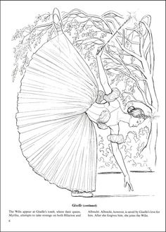 Favorite Ballets Coloring