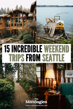 Ready for a Seattle weekend getaway but don't know where to go? We're sharing 10 adventurous weekend trips from Seattle right here! From Mount Rainier, the Olympic Peninsula, to more romantic places like Leavenworth and Bainbridge Island, there's something for everyone! Save this post on for your next Seattle weekend getaway inspiration! #seattle #washington #PNW #pacificnorthwest #weekendgetaway Weekend Trips From Seattle, Bainbridge Island, Olympic Peninsula, Romantic Places, Seattle Washington, Far Away, Weekend Getaways, Pacific Northwest, British Columbia
