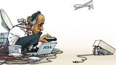 Scheidender US-Präsident in Berlin: Presse und Politik überbieten sich in Pathos. Von Drohnenangriffen und Staatsstreichen spricht hingegen kaum jemand. Barack Obama kam, und allerorten wurden die …